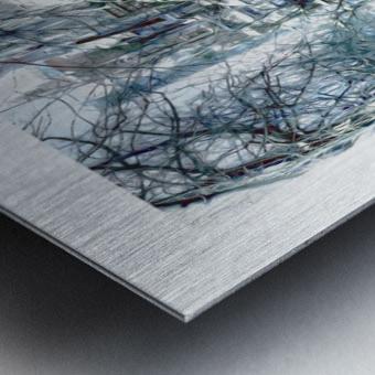 Rue Laval Montreal Metal print