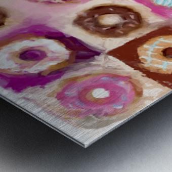 Donut Series No 1 Metal print