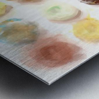 Donut Painting No2 Metal print