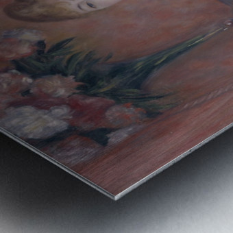 Portrait of Madame de Bonnieres Metal print