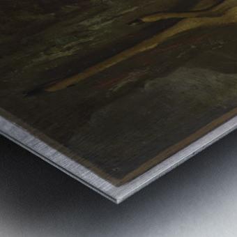 Le chevreuil Metal print