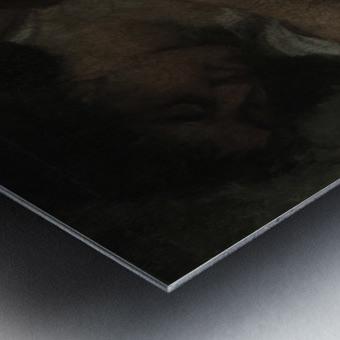 Trois baigneuses Impression metal