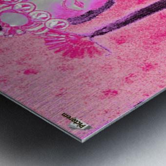 RÚ--in Hot Pink Metal print