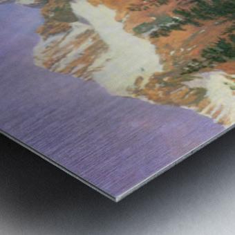 Canadian Rockies by Bierstadt Metal print