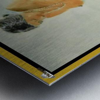 Facing the Sun for Fecundity Metal print