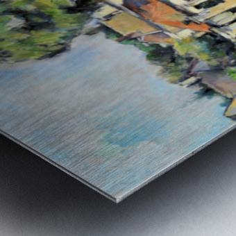 Cezanne - Banks of the Marne Metal print