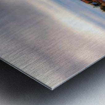 Barrage Metal print