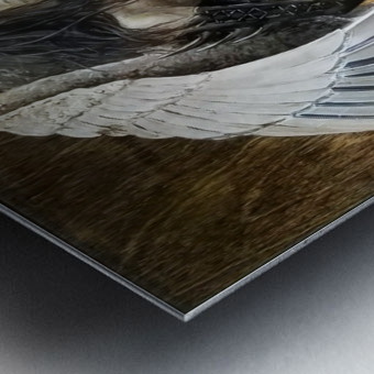 GroWING Pains Metal print