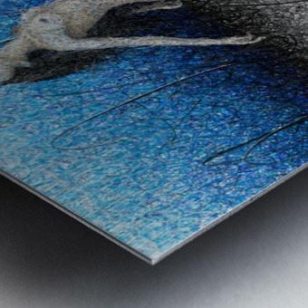 Ascension - Blue Metal print