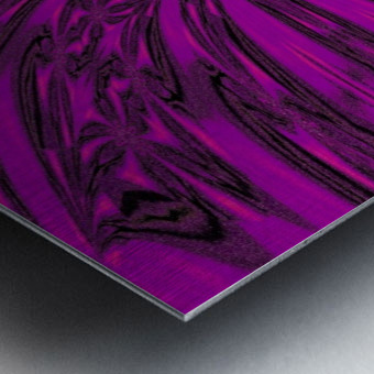 Purple Desert Song 8 Metal print