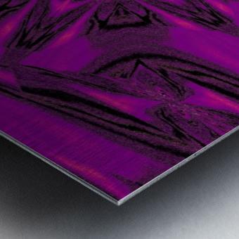 Purple Desert Song 40 Metal print