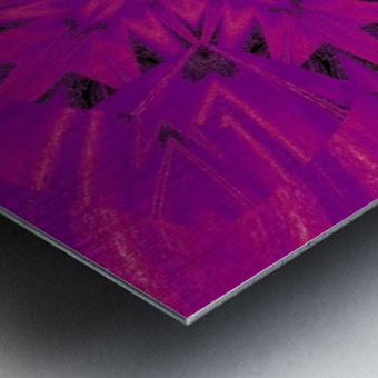 Purple Desert Song 45 Metal print