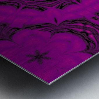 Purple Desert Song 48 Metal print