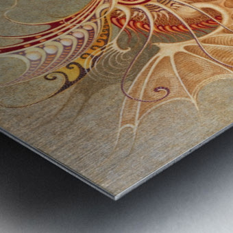 UTO Metal print