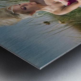 Summer Breeze Metal print