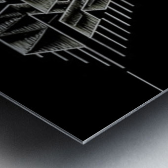 Monogram Art   Diamond AAA  2 Metal print