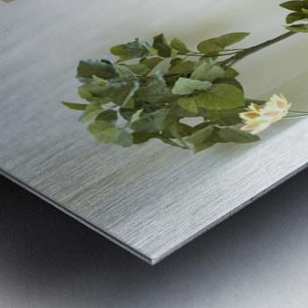 monogram art  YIMTZA   -FOR DISPLAY ONLY Metal print
