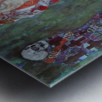 Death and Life by Klimt Metal print