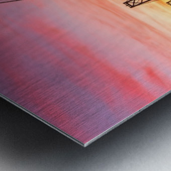 Grandmaster Metal print