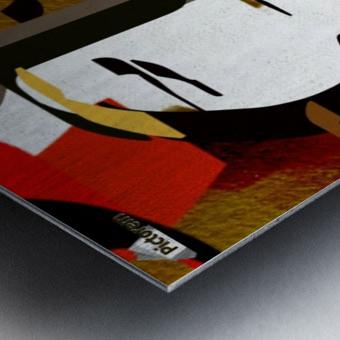 0216 Metal print