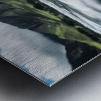 Land and Sea Metal print