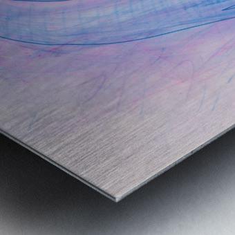 HIVER Metal print