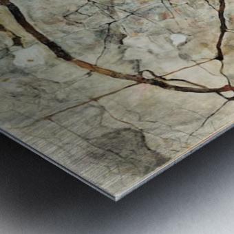 Egon Schiele - Winter Tree Metal print