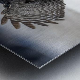 Keep Your Eye On The Target Metal print