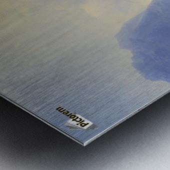 Sun on the sea Metal print