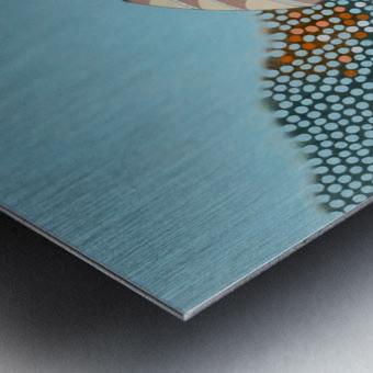Doha Metal print