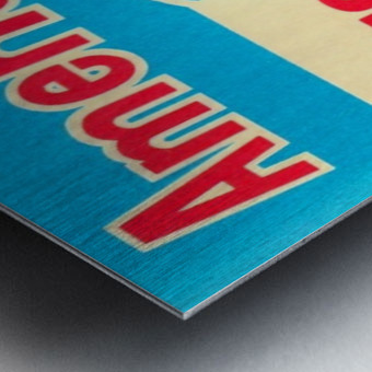 1976_Major League Baseball_American League Schedule_Row One Brand Metal print
