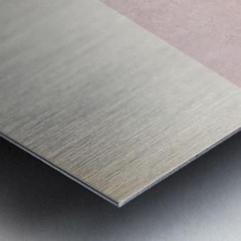 Textured Shapes 06 - Abstract Geometric Art Print Metal print