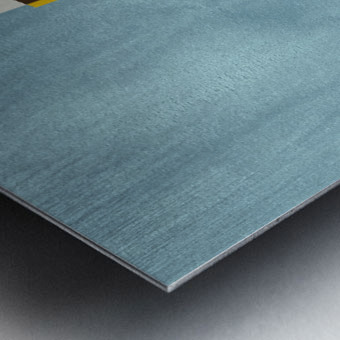 Textured Shapes 05 - Abstract Geometric Art Print Metal print