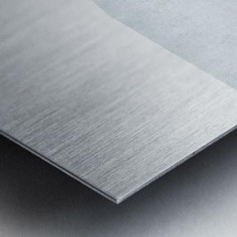 Textured Shapes 12 - Abstract Geometric Art Print Metal print