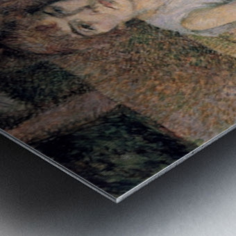 Face powder by Toulouse-Lautrec Metal print