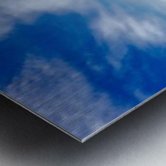 Rocky Mountain Range Metal print