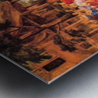 Flemish Kirmes by Rubens Metal print