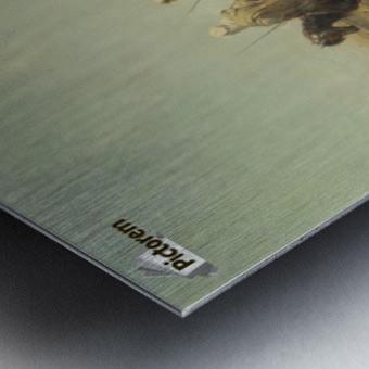 Arabische Krieger Metal print