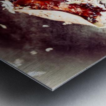 Street Okonomiyaki Metal print