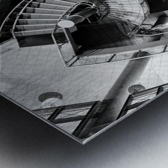 Fibonacci stairs Metal print