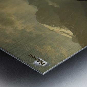 An einem Bergsee Metal print
