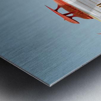 Avione Martellino Metal print