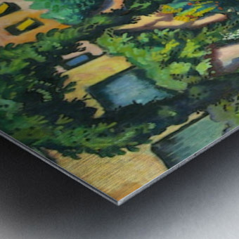 Garden image by Macke Metal print