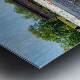 Watson Mill Bridge State Park   Comer GA 06860 Metal print