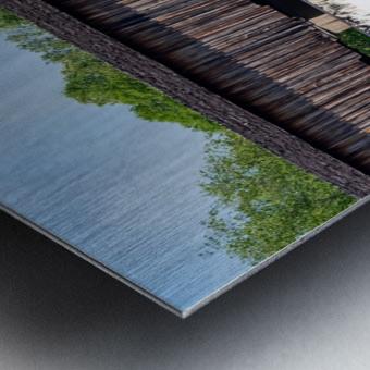 Watson Mill Bridge State Park   Comer GA 06715 Metal print