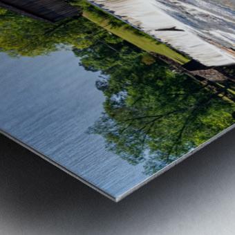 Watson Mill Bridge State Park   Comer GA 06914 Metal print