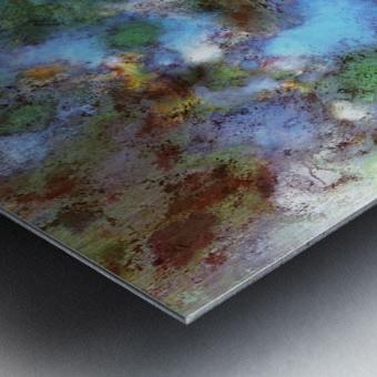 Audible water Metal print