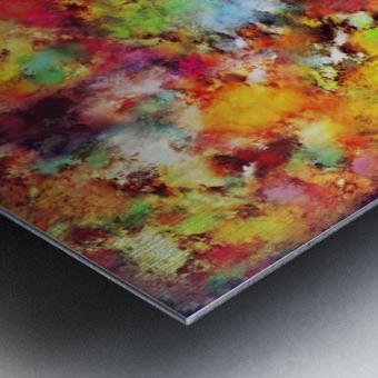 Big colour storm Metal print