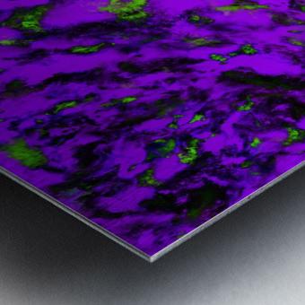 Fluttering purple Metal print