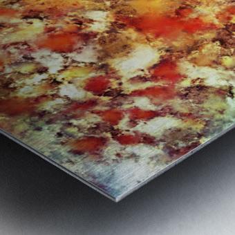 Hot water Metal print